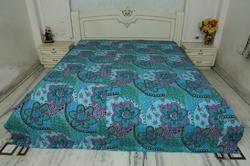 Kantha  Cotton Bed Cover