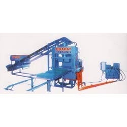 Manual High Pressure Fly Ash Bricks Machine