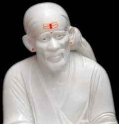 Marble Sai Baba Shirdi Pose