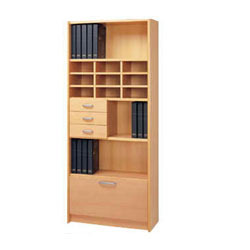 Books Wooden Storage