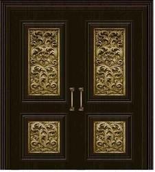 Modern Brass Door