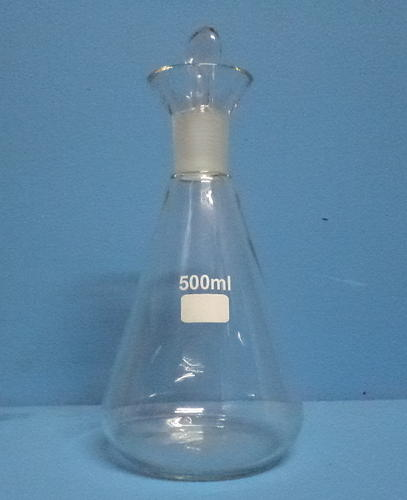 Laboratory Glass Flask Iodine Flask Manufacturer From