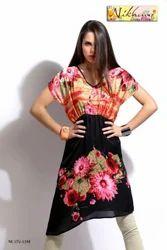 Designer Printed Fashion Kurti