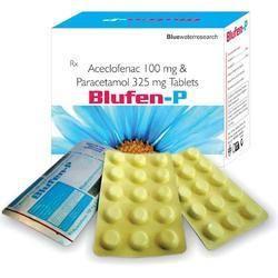 Aceclofenac 100 MG, Paracetamol 325 MG