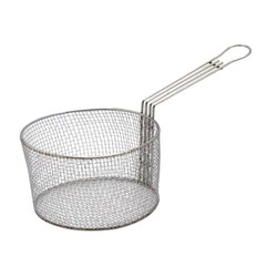 Stainless Steel Mesh Fry Basket