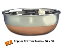 Copper Bottom Steel Kadai