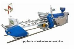 pp hips sheet extrusion molding machine