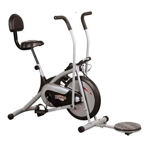 Air Bike Platinum DX With Backrest & Twister
