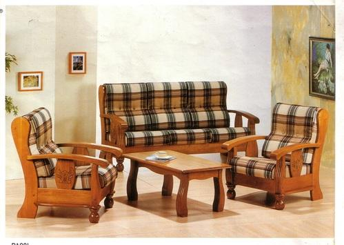 Teak High Back Sofa, Wooden Sofa, Wardrobes And Furniture ...