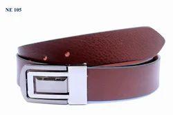 Men Brown Leather Belts