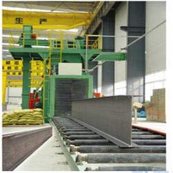 Structural Steel Shot Blasting Machine