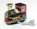 Wiind Up Engine Toy Locomotive