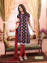 Multicolored Salwar Kameez