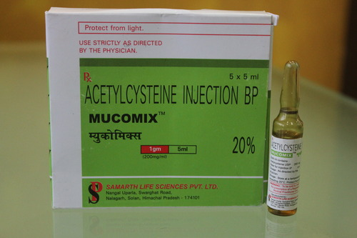 N- Acetylcysteine Injection 20% BP