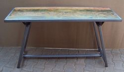 Iron Industrial Console Table