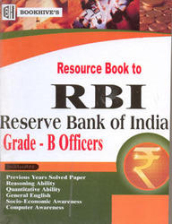 Resource Book To RBI  Of Grade B Officers