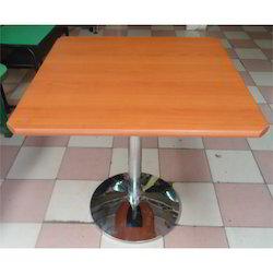 Single Pillar Table