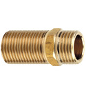 Double Nipple Brass Extended
