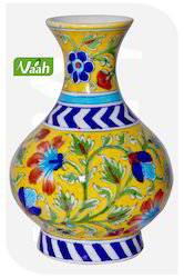Vaah Blue Pottery Decorative Flower Pot