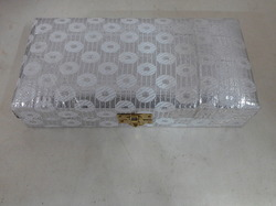 Brocade Fabric Cash Gaddi Box