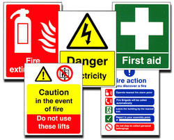 safety signs glow board customized also available