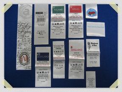 Printed Labels For Clothing And Bags