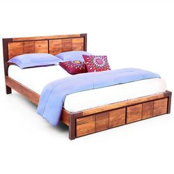 Wooden Double bed SUP DB 013
