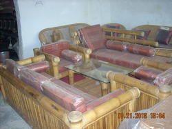 Bamboo Box Sofa with settee