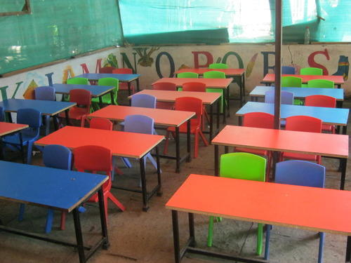 Pictures Of Classroom Furnitures ~ Classroom desk kids manufacturer from pune