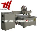 Three Workstages Woodworking CNC Router