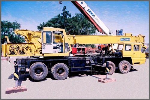 Telescopic Crane Hire : Telescopic cranes rental services
