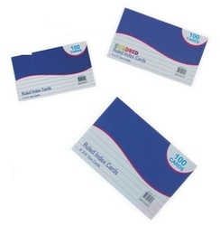 stationary index cards