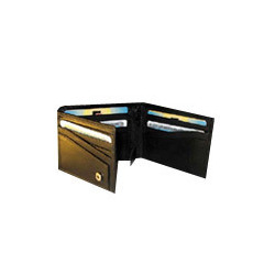 Black Tri Fold Wallets