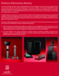 orthotic fabrication system