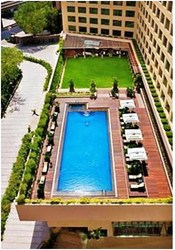 Swimming Pool Of Hotel Marriott Courtyard