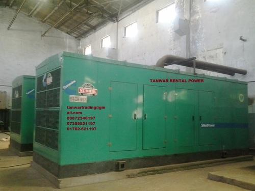 Silent Generator Hiring 500 KVA - Generator Rental Service Provider ...