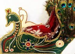 Wedding Peacock Lehnga Packing