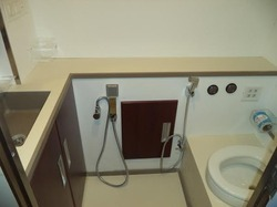 Electric Toilet for buses