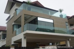 Balcony Glass Railing Models
