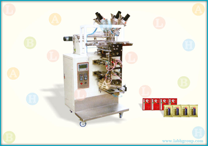 Automatic Multitrack Sachet Packaging Machine