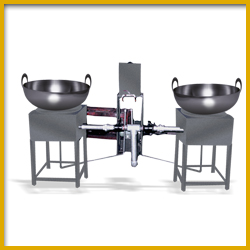 Frying Machine  for Indian Snacks Manufacturing