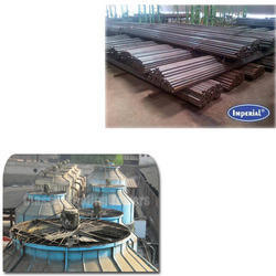 Round Pipes for Cooling Tower