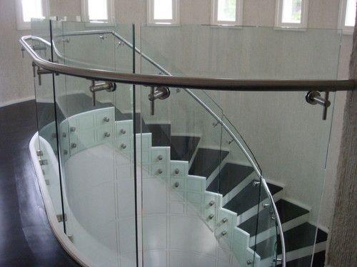 Curved Glass Railing