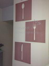 Acrylic Kitchen Decoration