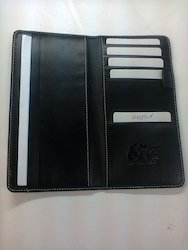 Leather Passport Document & Cheque Cover