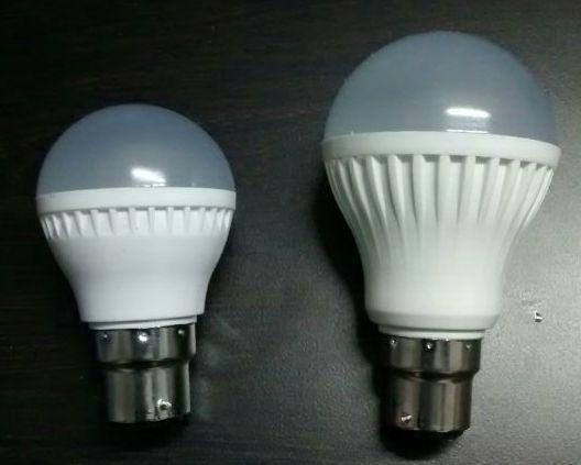 complete plastic led bulb & housing