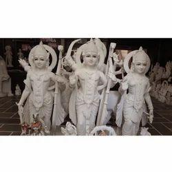 Ram Darbar In Makrana White Stone