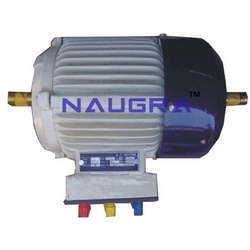 3 phase ac squirrel cage induction motor for electrical lab