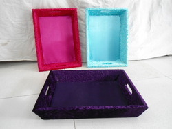 Velvet Saree Packing Tray