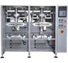 Automatic Twin head Twin servo Vertical   Pouch Packing Machine with Filler